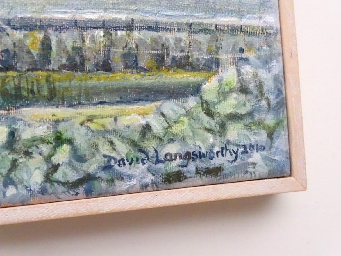 David Langsworthy 2010 Cornish School, Oil on canvas, - 5