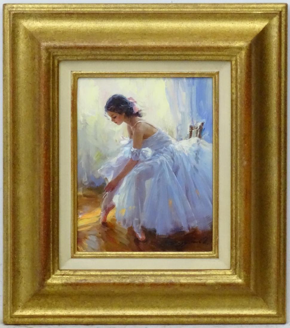Konstantin Razumov (b. 1974), Russian, Oil on canvas,
