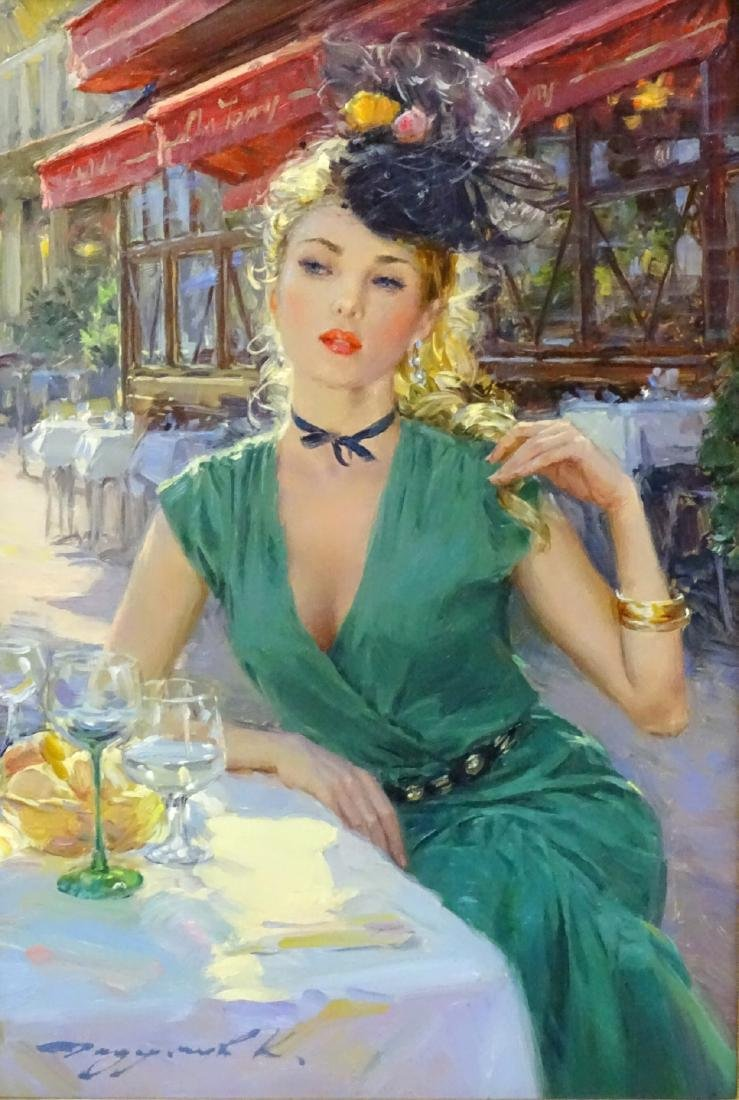 Konstantin Razumov (b. 1974), Russian, Oil on canvas, - 3