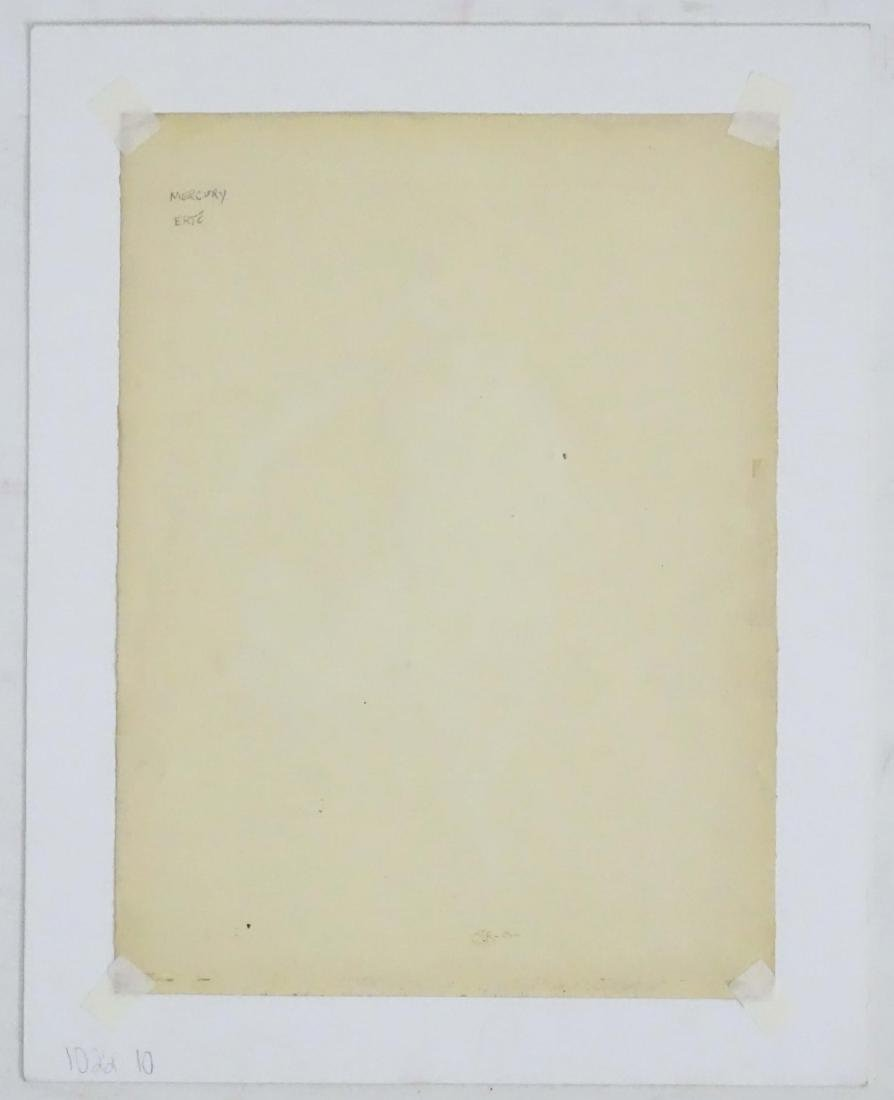 Erté (1892 - 1990) Gouache on paper Male theatrical - 2