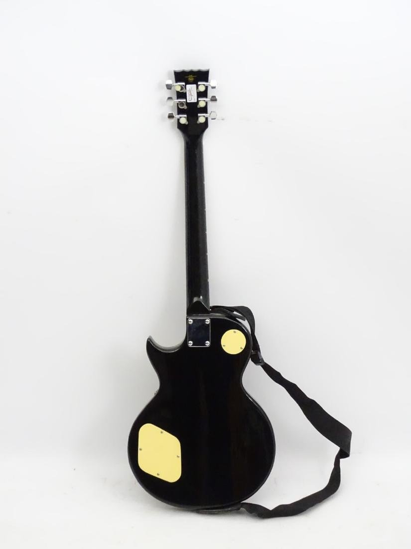 Musical Instruments: An Encore 'E99 BLK' solidbody - 2
