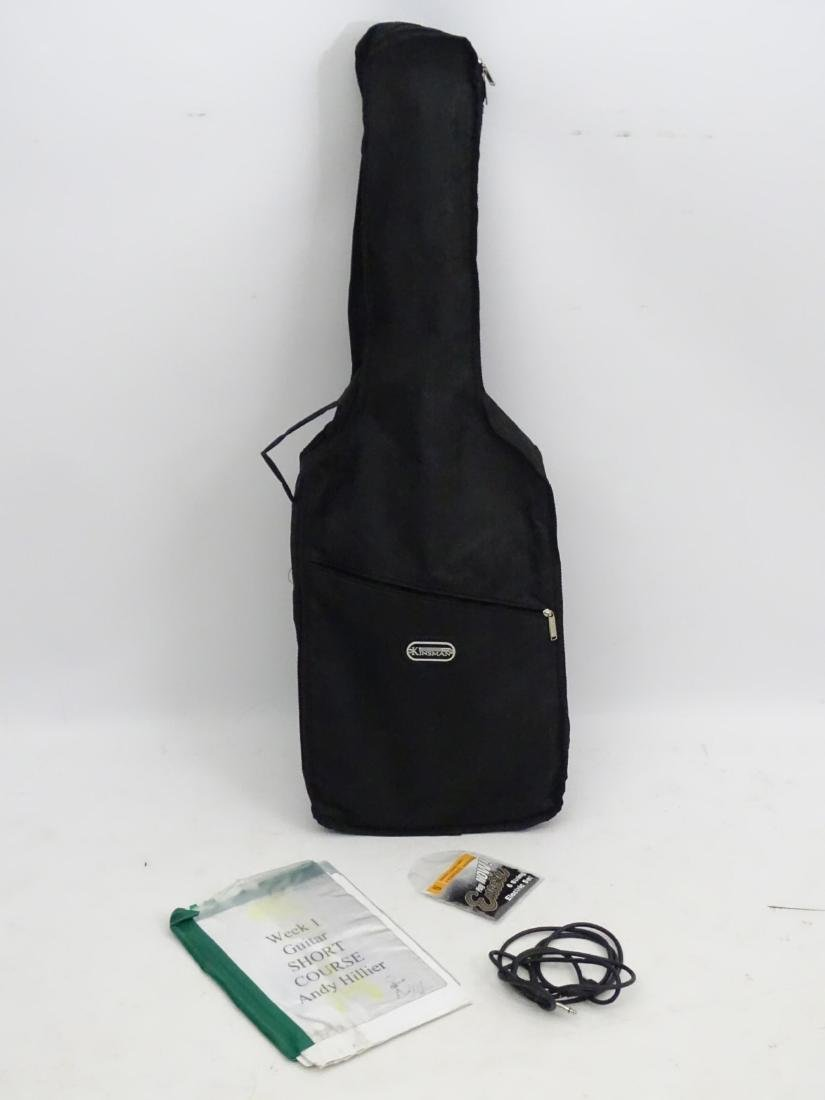 Musical Instruments: An Encore 'E99 BLK' solidbody - 4