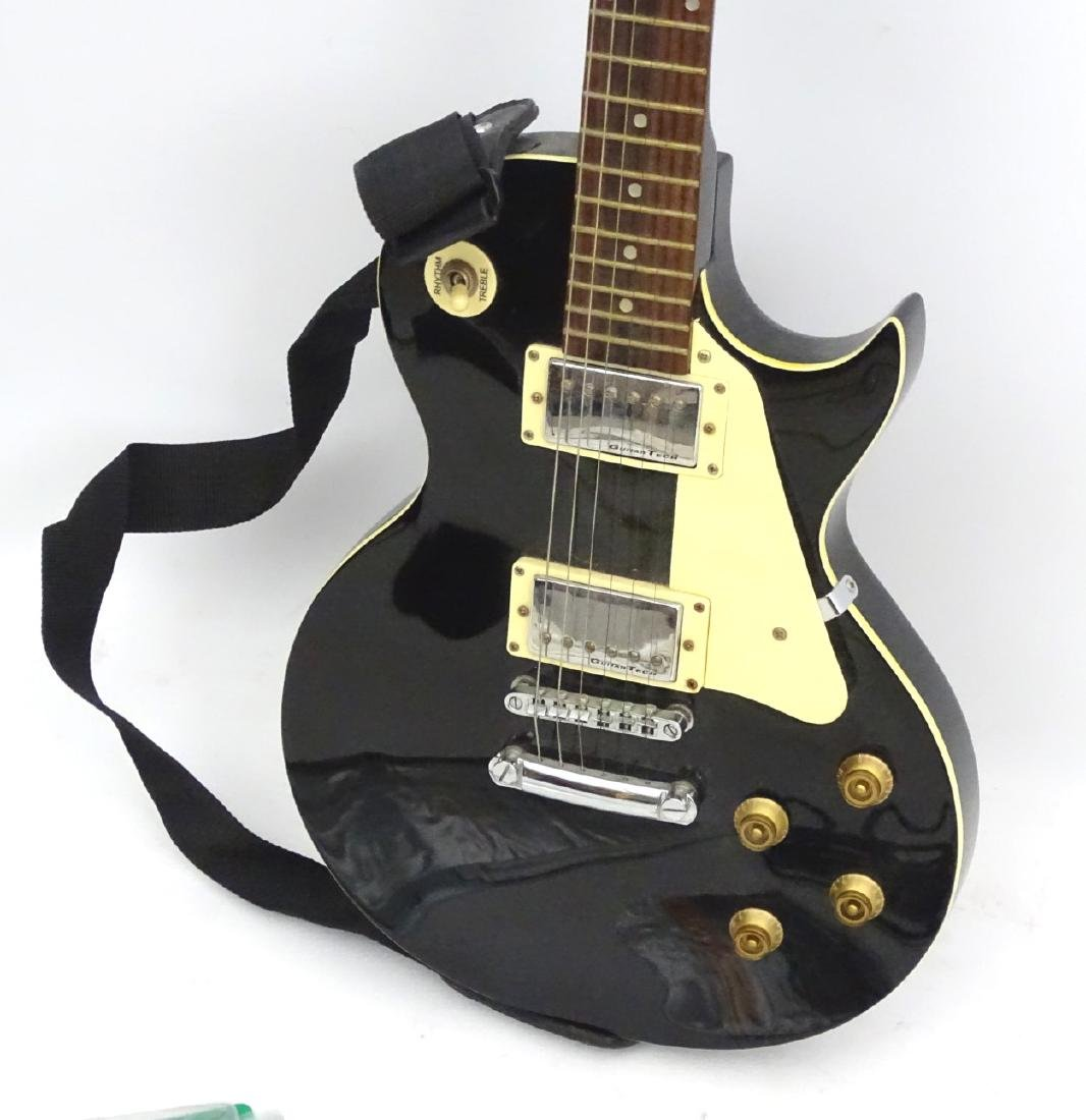 Musical Instruments: An Encore 'E99 BLK' solidbody - 5