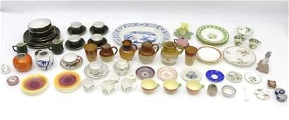 A quantity of assorted ceramics makers to include
