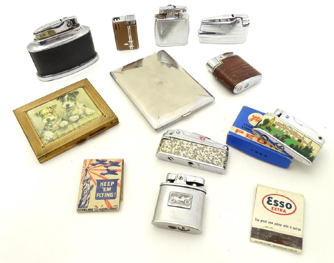 A collection of mid-20thC cigarette lighters, to
