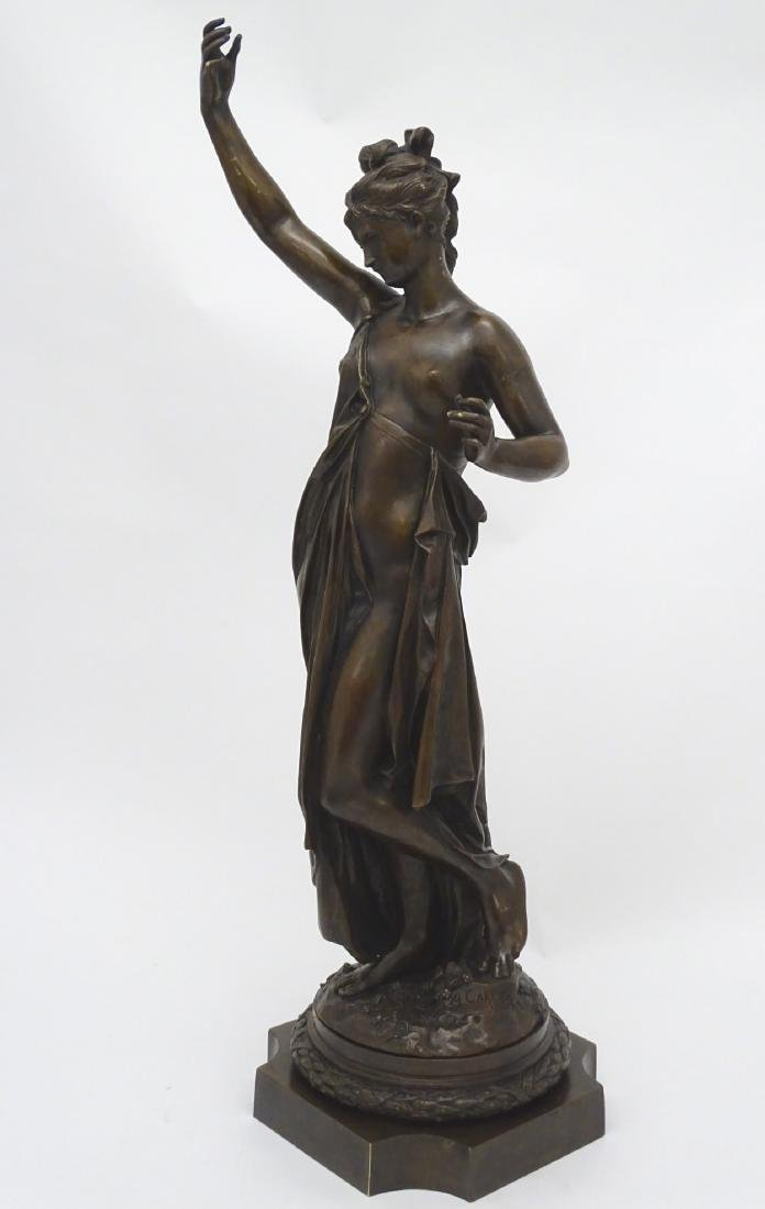 Anna Carrier XIX, Patinated  Bronze Sculpture, Draped - 10