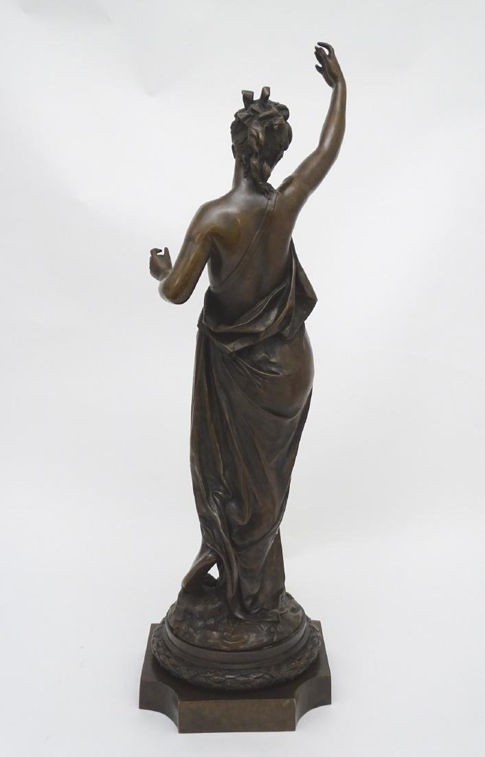 Anna Carrier XIX, Patinated  Bronze Sculpture, Draped - 2