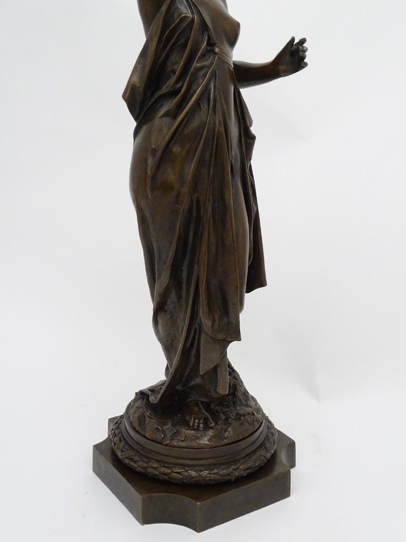 Anna Carrier XIX, Patinated  Bronze Sculpture, Draped - 4
