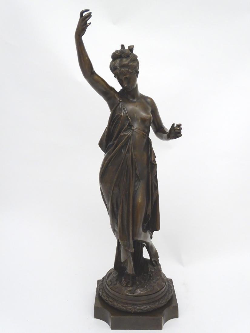 Anna Carrier XIX, Patinated  Bronze Sculpture, Draped - 7