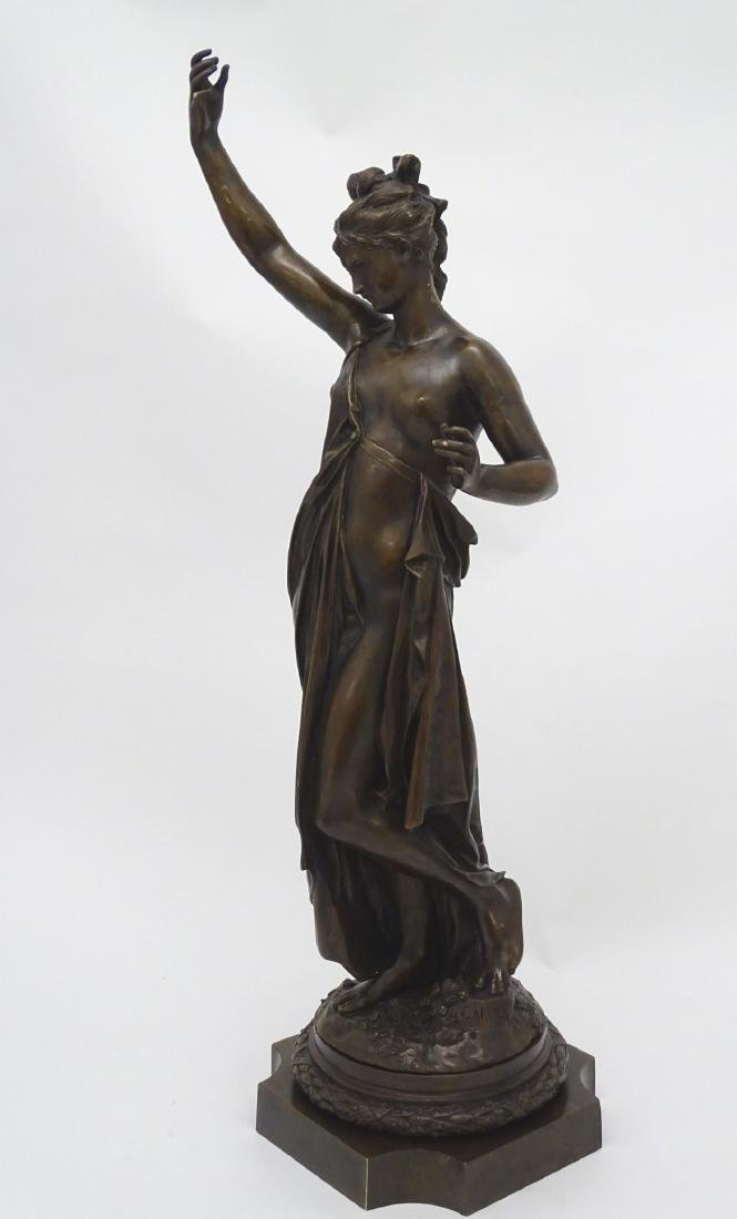 Anna Carrier XIX, Patinated  Bronze Sculpture, Draped - 8