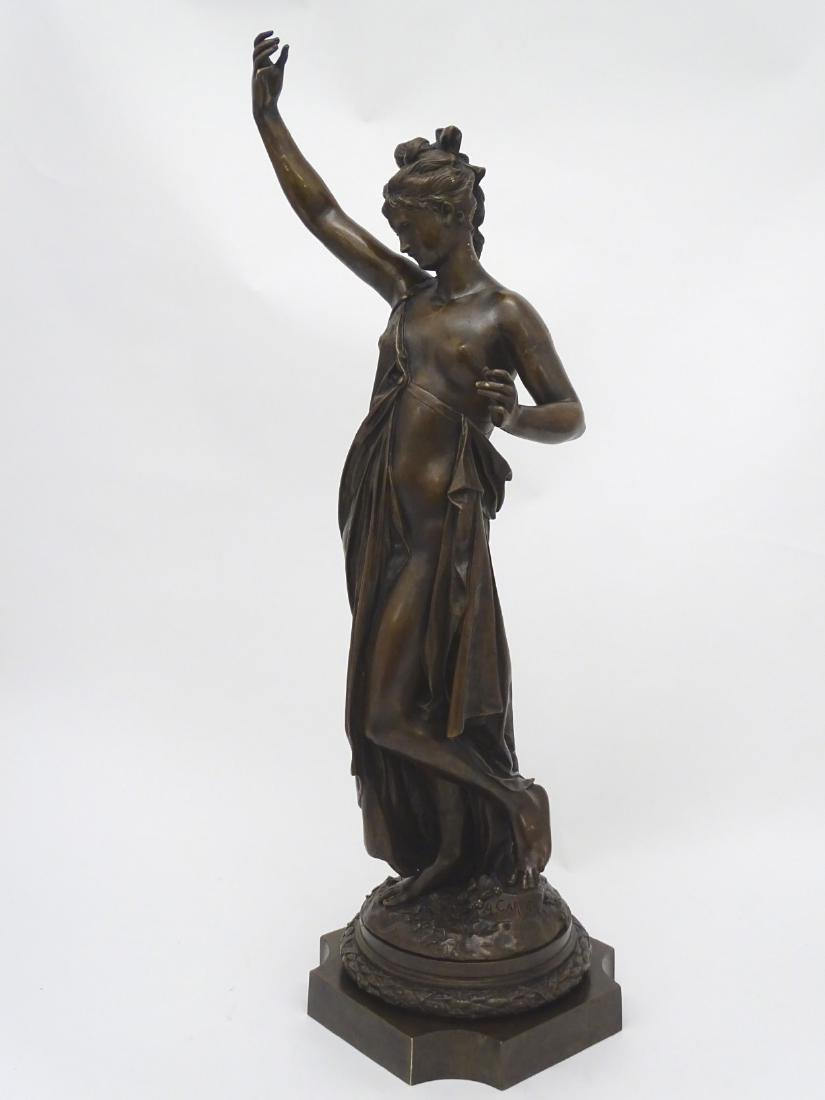 Anna Carrier XIX, Patinated  Bronze Sculpture, Draped - 9