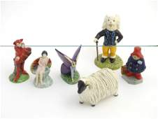 A quantity of assorted ceramic figurines, to include a
