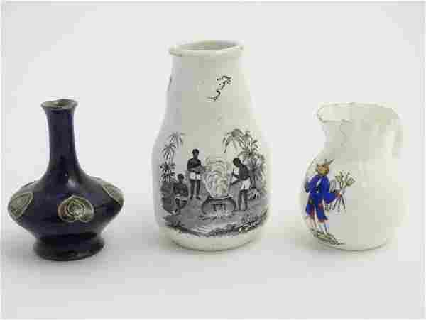 A quantity of assorted ceramics to include a Batty's