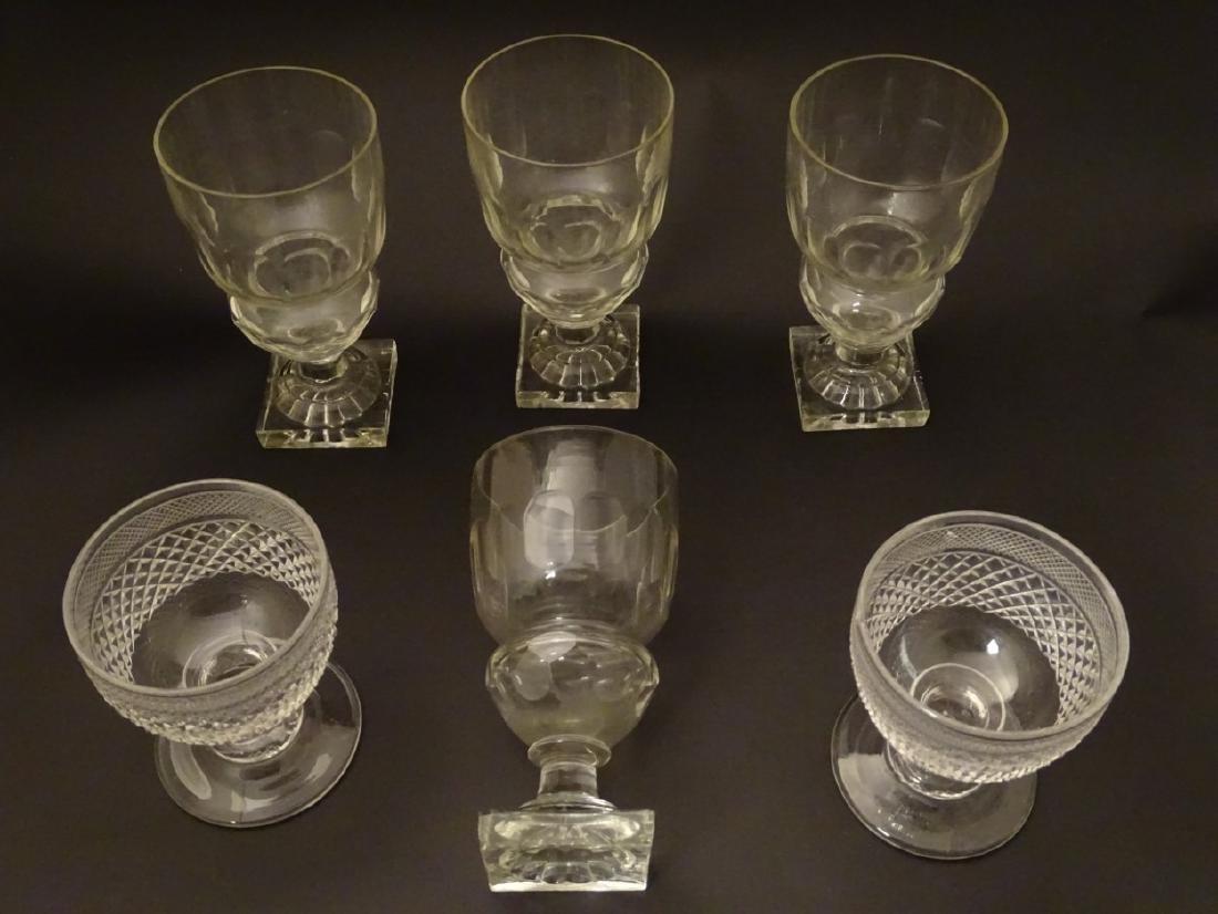 Glasses : a set of 4 handmade lemon squeezer square