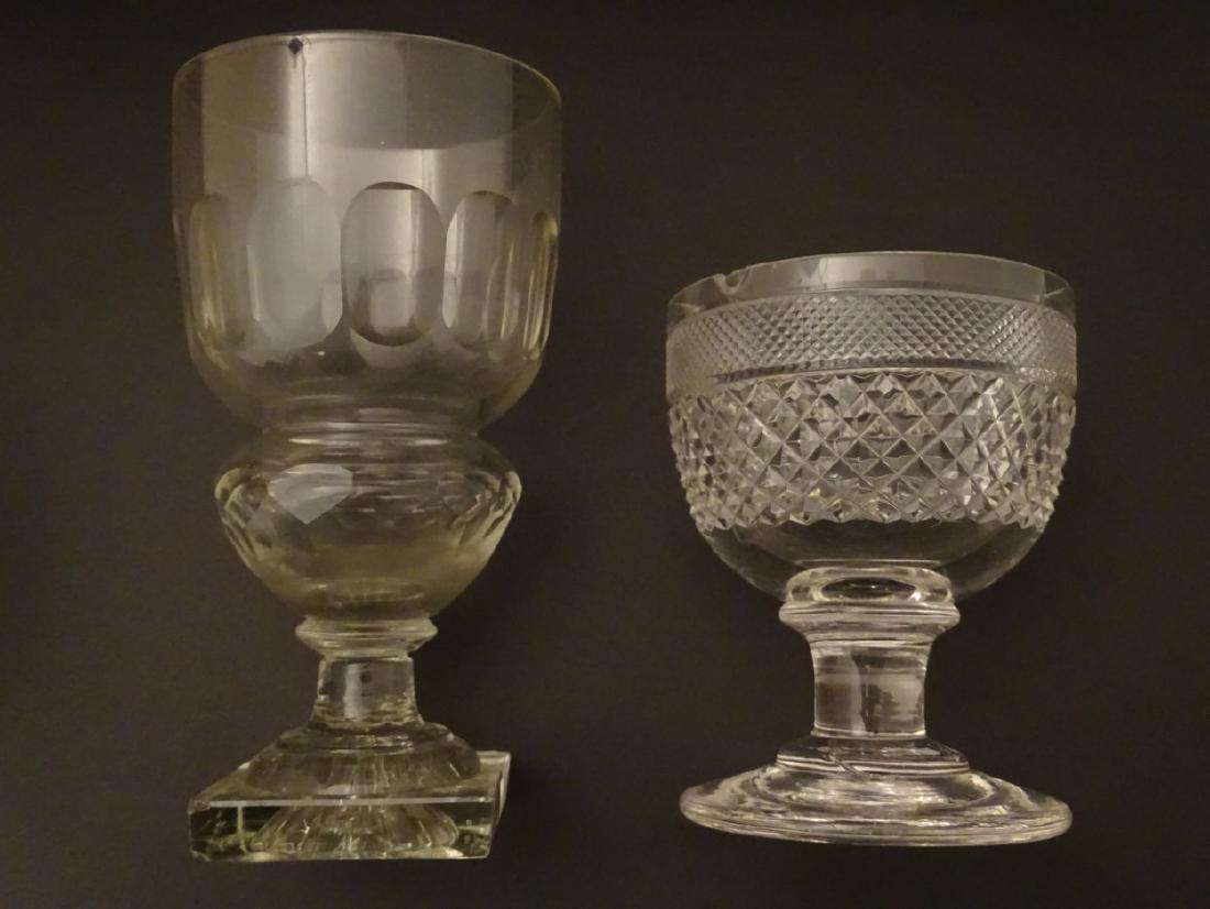 Glasses : a set of 4 handmade lemon squeezer square - 3