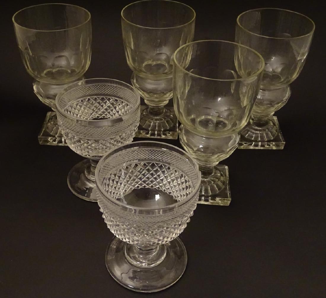 Glasses : a set of 4 handmade lemon squeezer square - 5