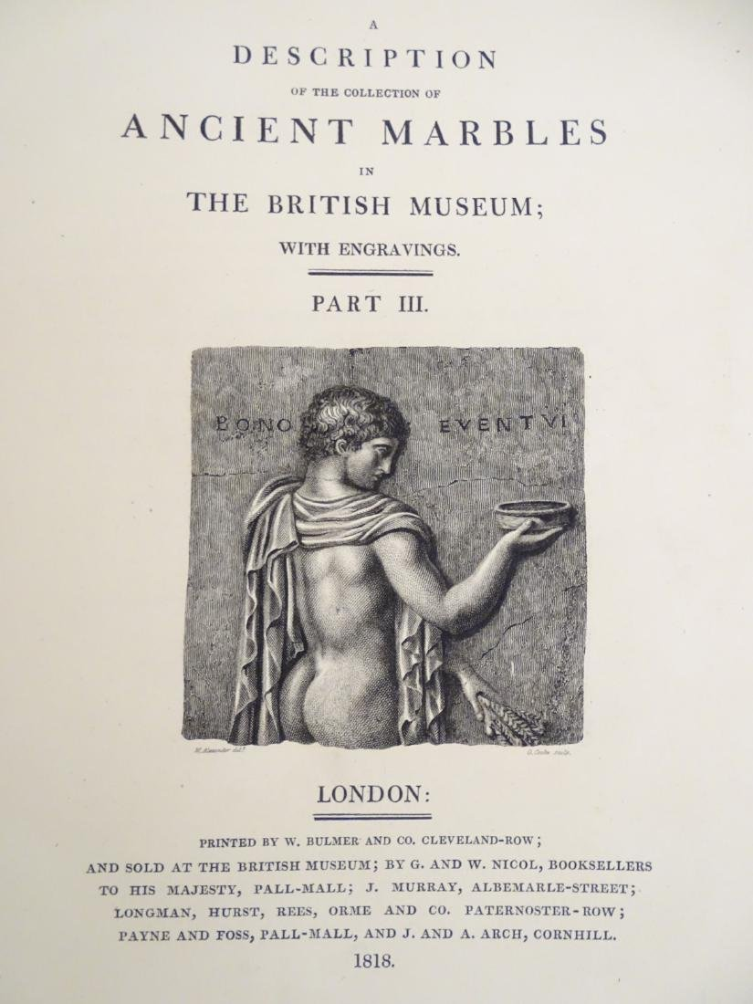 Books: 'Description of the Collection of Ancient - 8