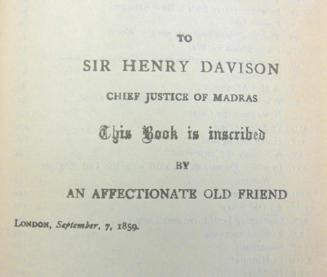 Book: W.M Thackeray The Virginians 1859. Illustrated by - 4