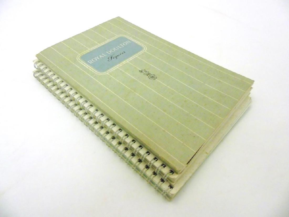 A spiral bound book of Royal Doulton figures. - 3