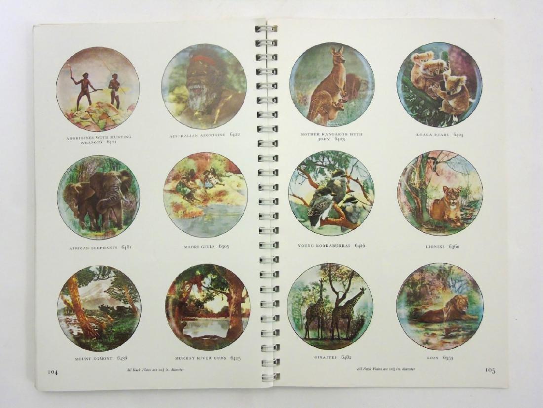 A spiral bound book of Royal Doulton figures. - 7