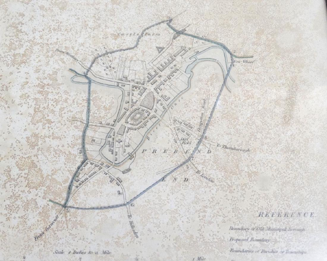 Map: ''Buckingham'' A c1832 Lithographic map of - 3