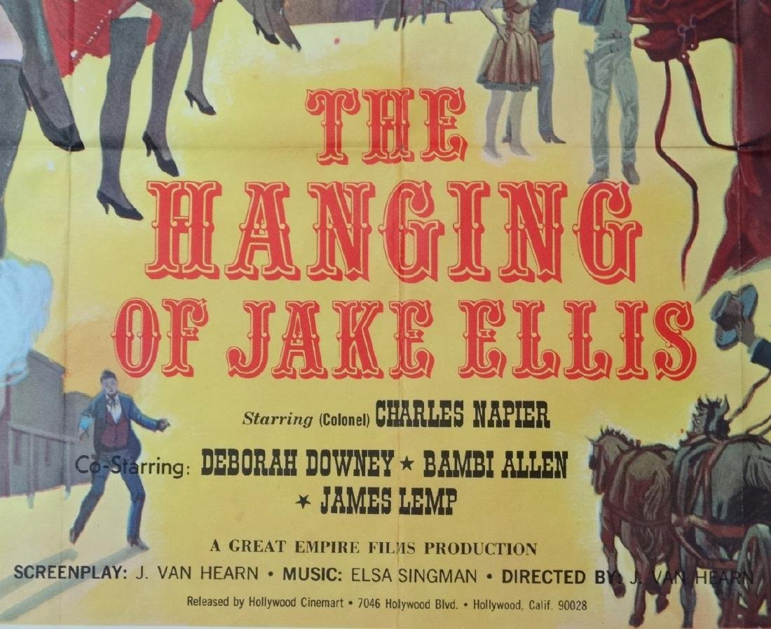Poster: A poster advertising film 'The Hanging of Jake - 3