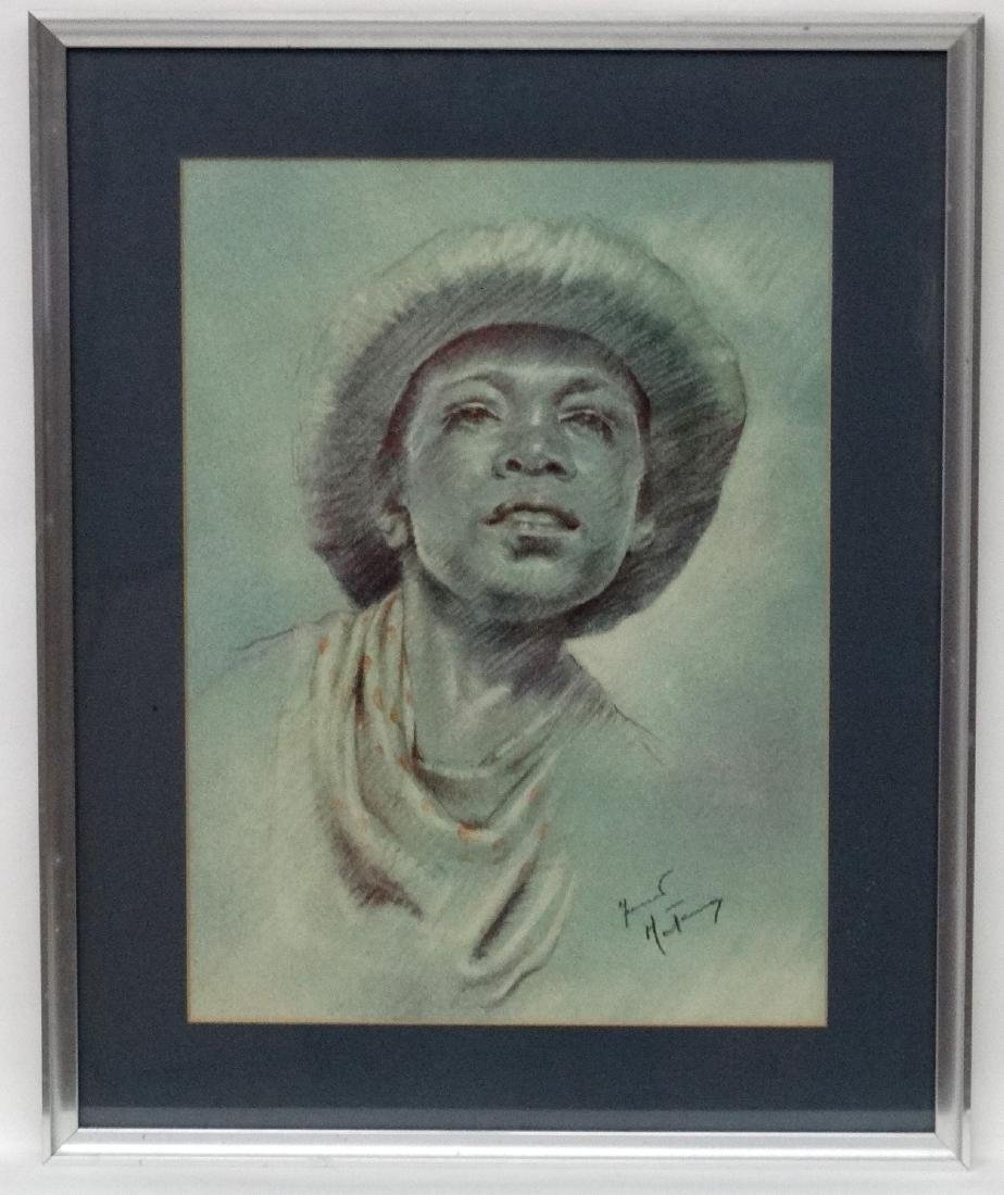 Fortunino Matania (1881-1963) Italian, Pastel on paper,