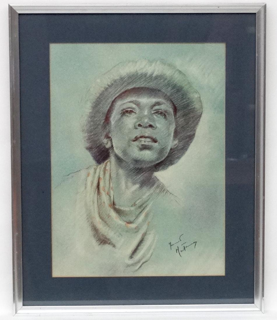 Fortunino Matania (1881-1963) Italian, Pastel on paper, - 2