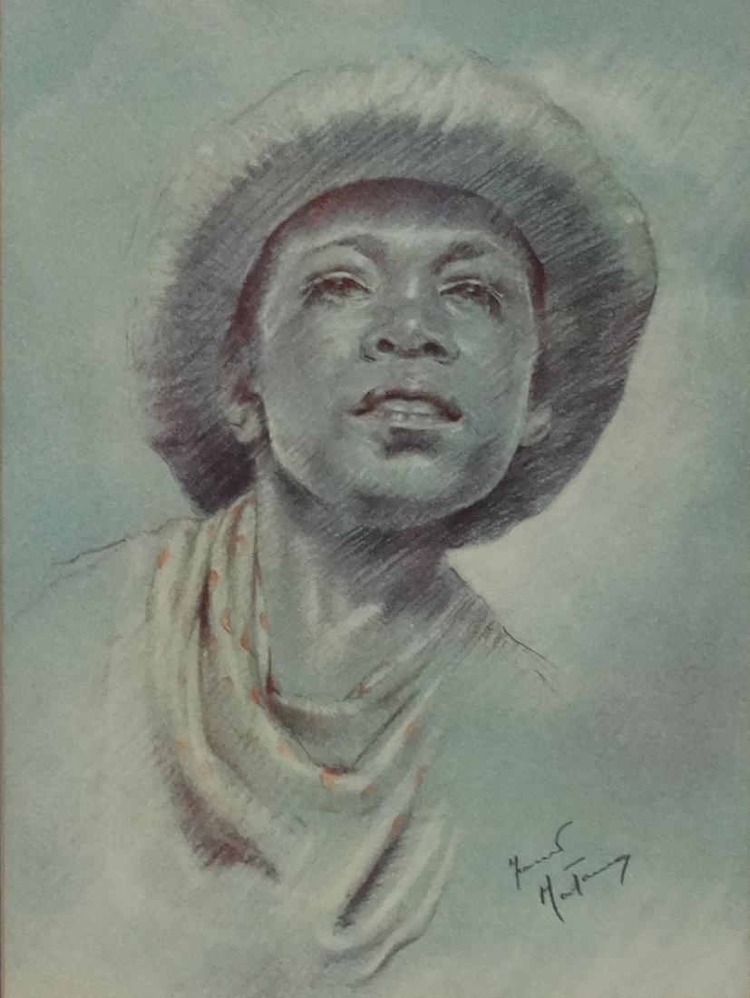 Fortunino Matania (1881-1963) Italian, Pastel on paper, - 3