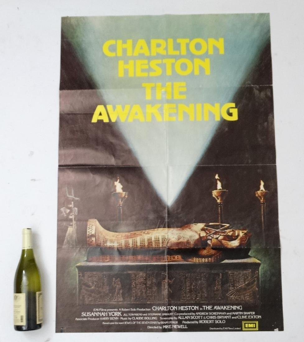 Poster: A poster advertising the film 'The Awakening'