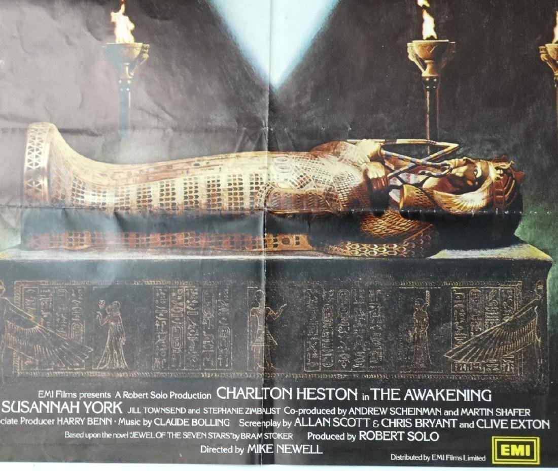 Poster: A poster advertising the film 'The Awakening' - 2