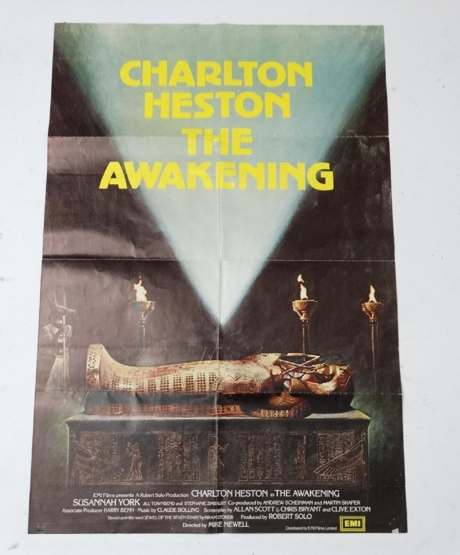 Poster: A poster advertising the film 'The Awakening' - 3
