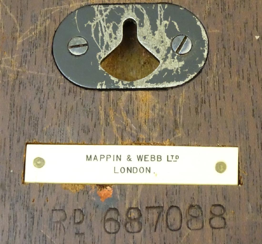 Heals Art Deco Wall Clock : A Mappin & Webb convex - 2