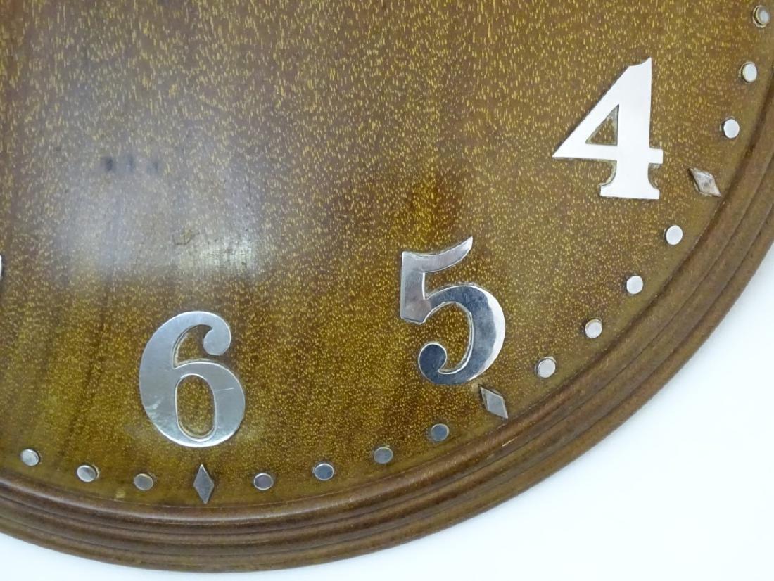 Heals Art Deco Wall Clock : A Mappin & Webb convex - 6