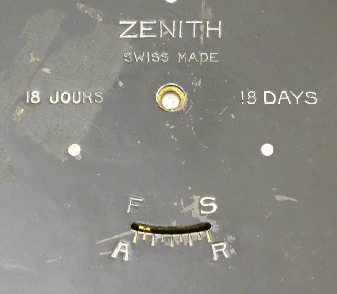 Heals Art Deco Wall Clock : A Mappin & Webb convex - 8