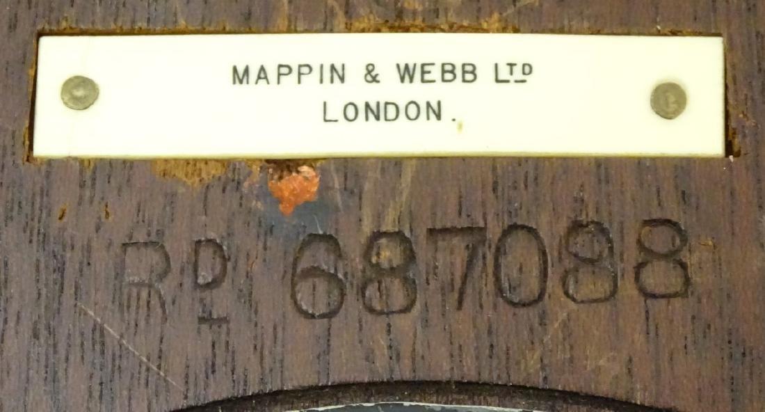 Heals Art Deco Wall Clock : A Mappin & Webb convex - 9