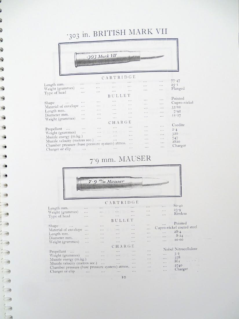 A quantity of gun catalogues, comprising 'Cartridges - 2