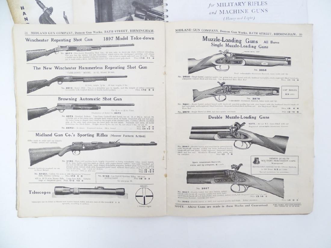 A quantity of gun catalogues, comprising 'Cartridges - 4