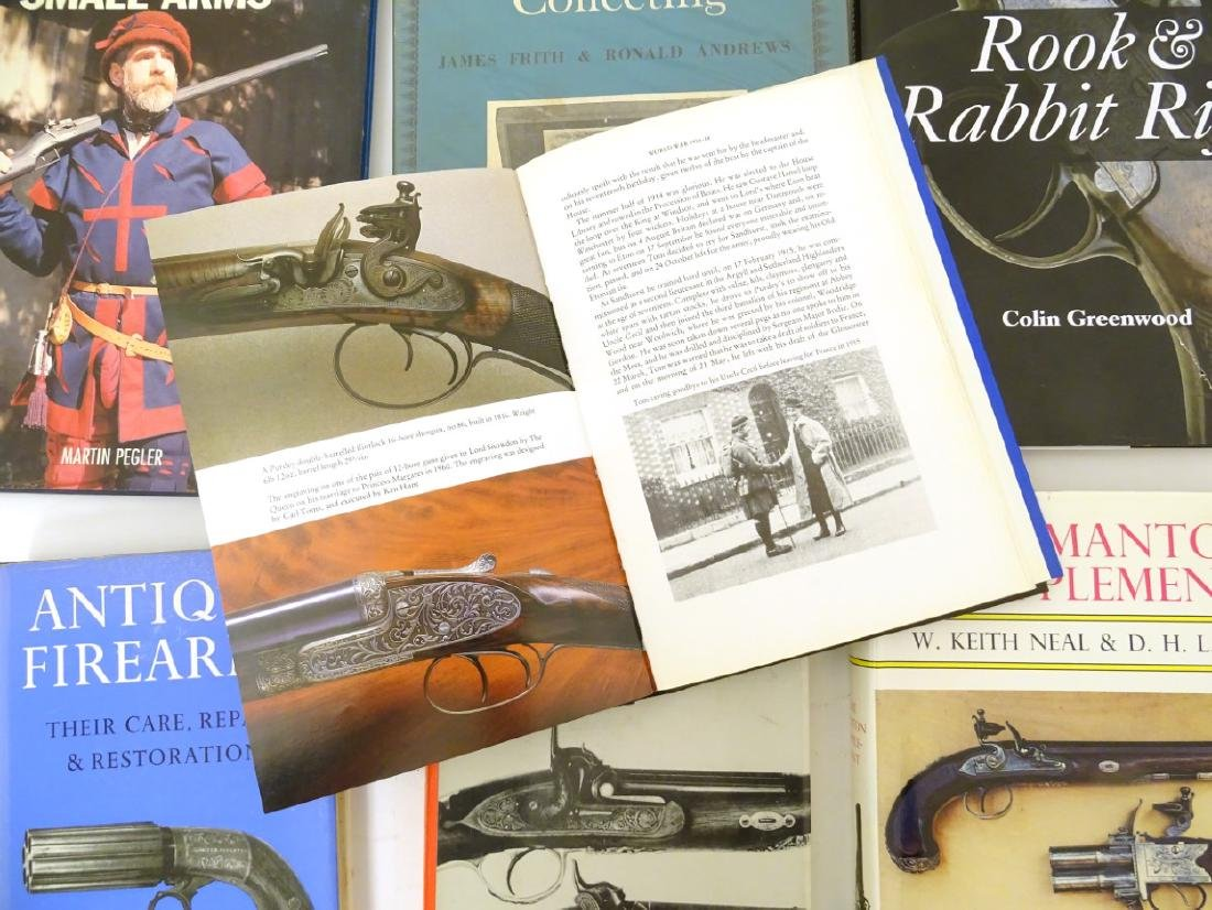 Books: A quantity of books on the subject of guns, - 2