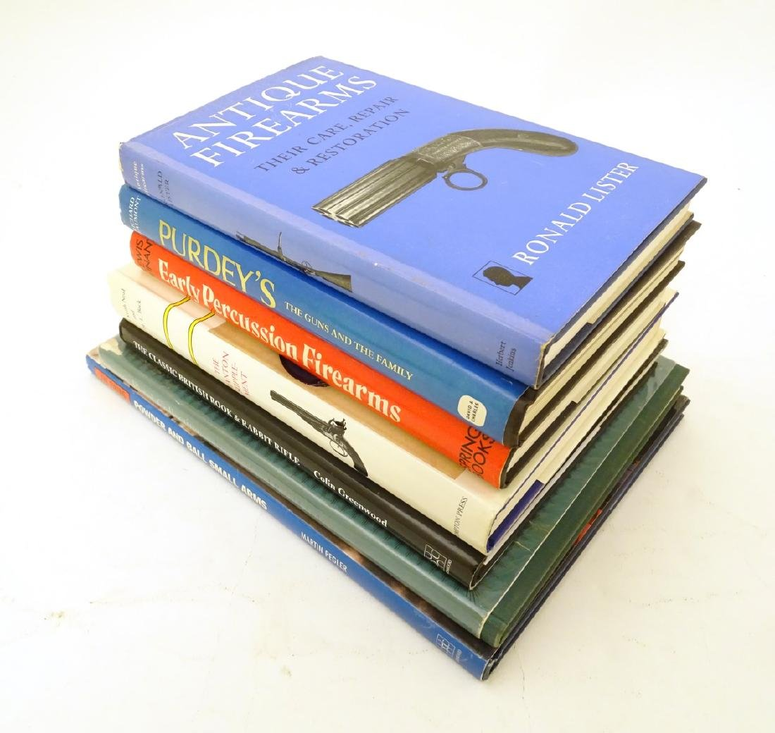 Books: A quantity of books on the subject of guns, - 3