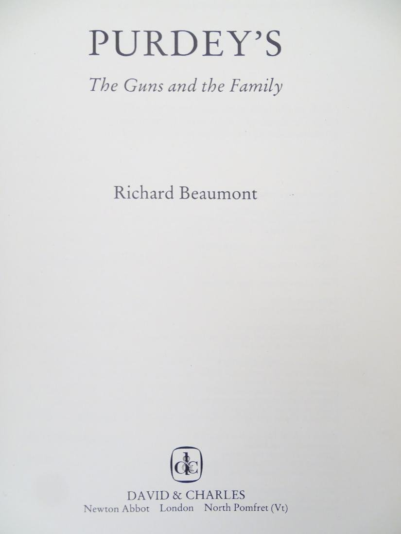 Books: A quantity of books on the subject of guns, - 4