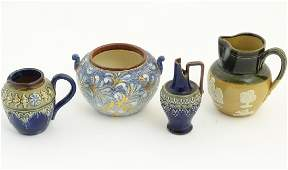 A quantity of Royal Doulton wares to include jugs a