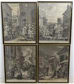 After William Hogarth 16971764 A set of 4