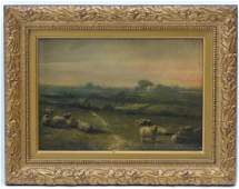 Indistinctly signed and dated (18)'68 ', Oil on canvas