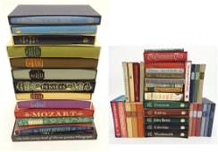 Books A large quantity of Folio Society books to