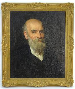 Alfred Edward Emslie (1848-1928), Oil on canvas, Self