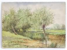 Henry Sylvester Stannard (1870-1951), Watercolour, A