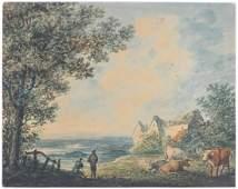 Manner of John Robert Cozens (1752-1799), Watercolour,