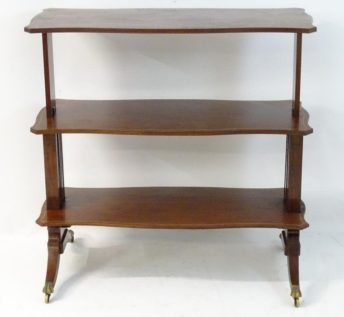 A mid 19thC mahogany metamorphic table / buffet with