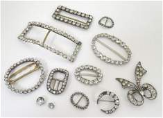 A quantity of assorted 19th  20thC buckles and